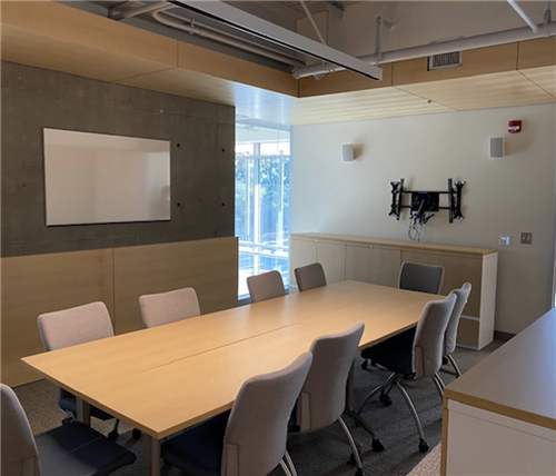Conference room at Malibu High School New Building