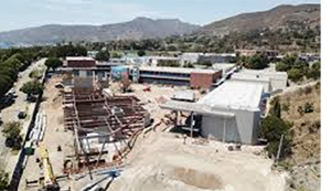Malibu Middle School construction