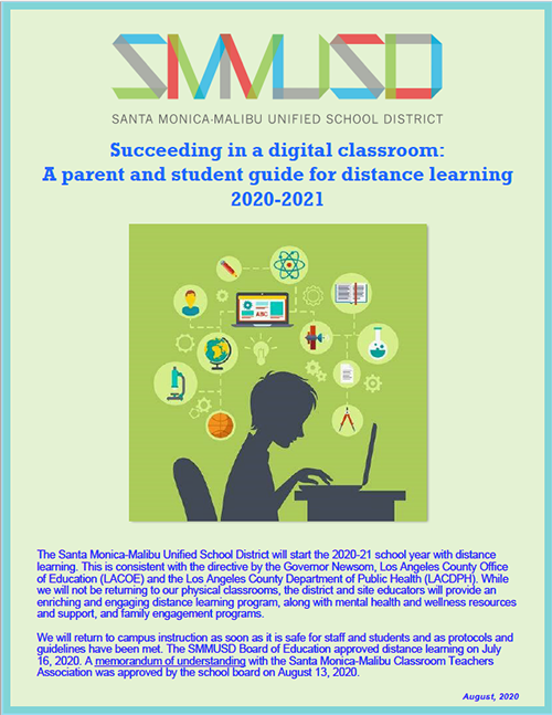 SMMUSD Distance Learning Guide 2020-21